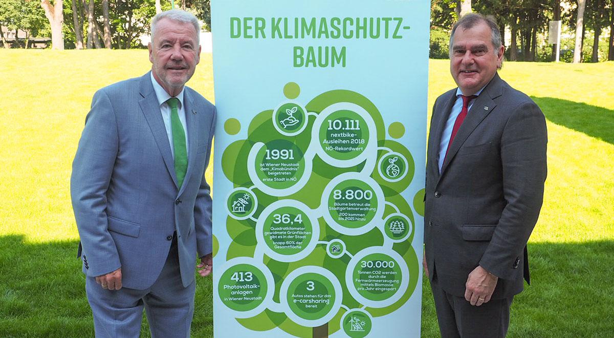 Weltumwelttag Klimaschutz-Maßnahmen / Foto: Stadt Wiener Neustadt/Pürer