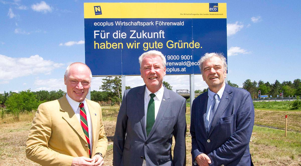 Wirtschaftspark Föhrenwald / Foto: Magistrat