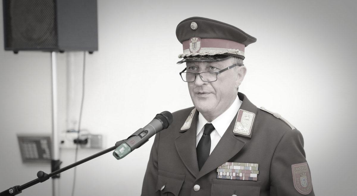 Branddirektor Josef Bugnar / Foto: Presseteam d. FF Wr. Neustadt