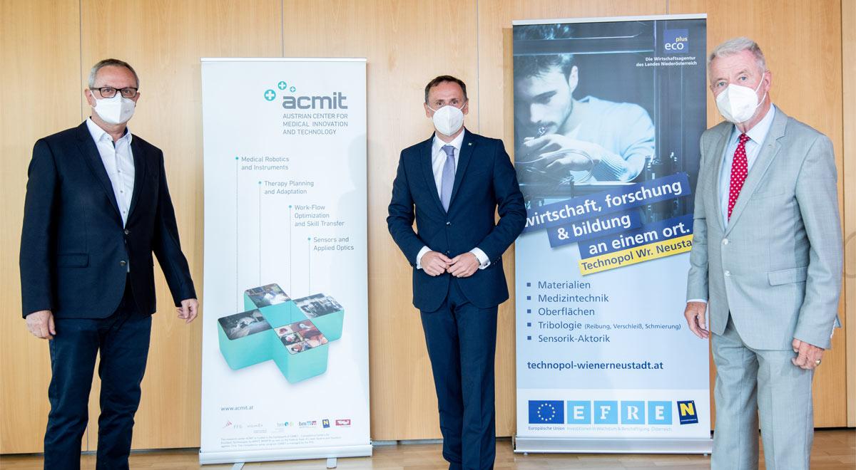 Betriebsbesuch ACMIT / Foto: © Imre Antal