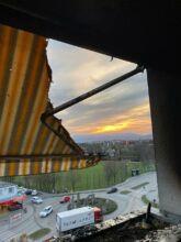 Balkonbrand / Foto: Presseteam d. FF Wr. Neustadt