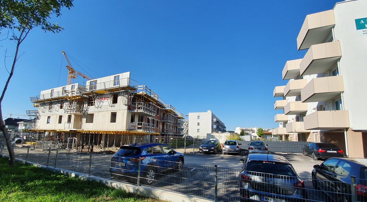 Baustelle Am Kleinen Lazarett / Foto: Robert Mayer / wn24