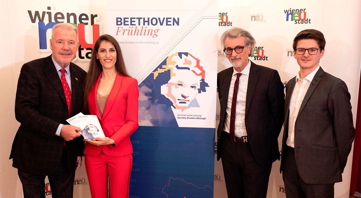 Beethoven Frühling 2020 / Foto: Stadt Wiener Neustadt/Weller