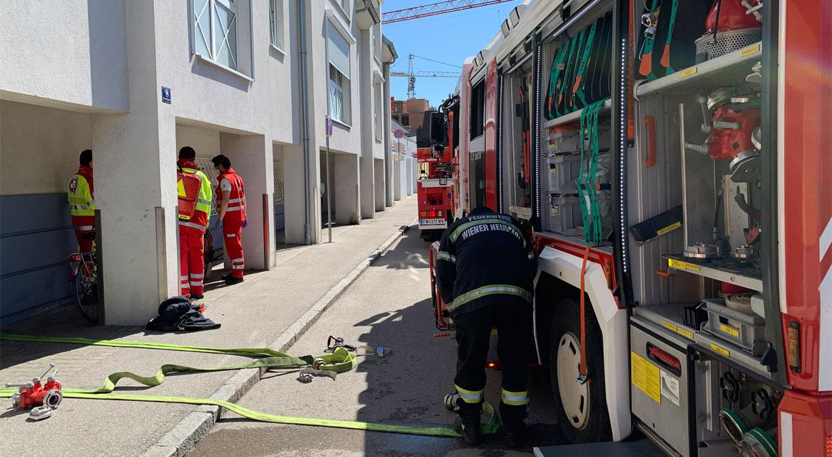 Feuerwehreinsatz / Foto: Presseteam d. FF Wr. Neustadt