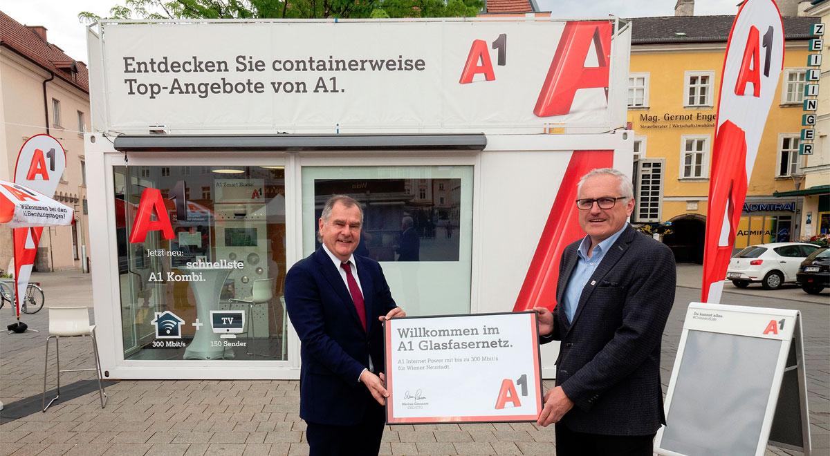 Breitband Ausbau / Foto: Stadt Wiener Neustadt/Weller