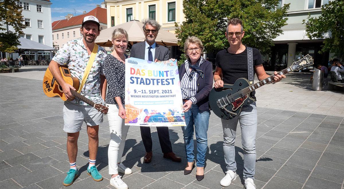 """Buntes Stadtfest"" am 10. und 11. September / Foto: Stadt Wiener Neustadt/Weller"
