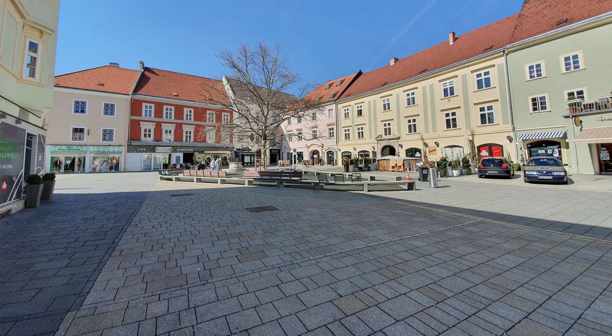 Hauptplatz zur Coronakrise / Foto: wn24