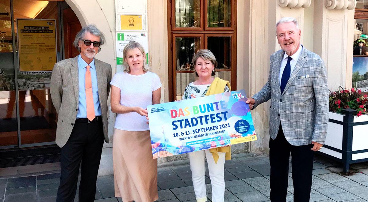 Das Bunte Stadtfest / Foto: Stadt Wiener Neustadt