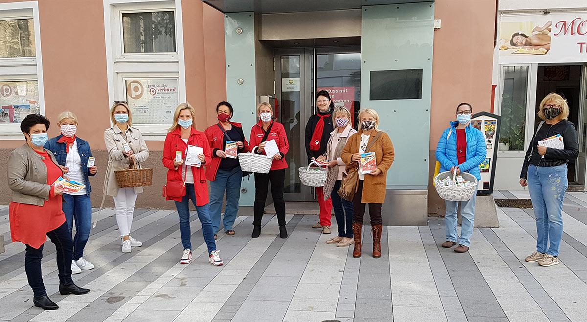 Equal Pay Day 2020 / Foto: SPÖ Bezirk WN