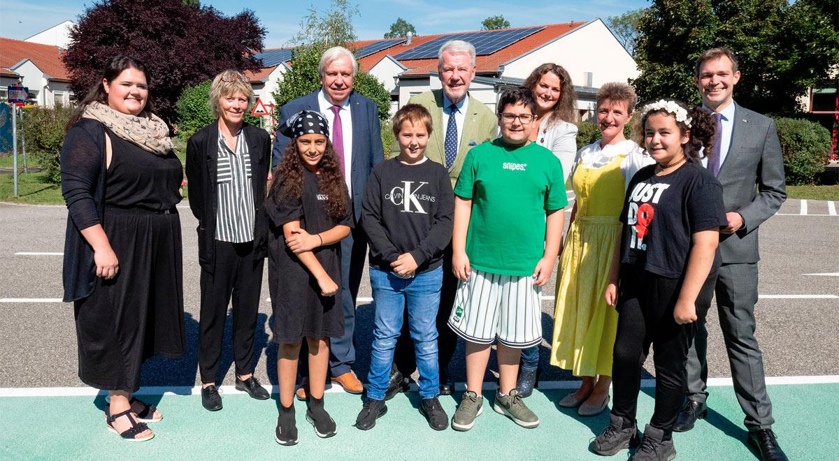 Neue Mittelschule im Föhrenwald / Foto: Stadt Wiener Neustadt/Weller