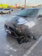 Fahrzeugbrand / Foto: Presseteam d. FF Wr. Neustadt