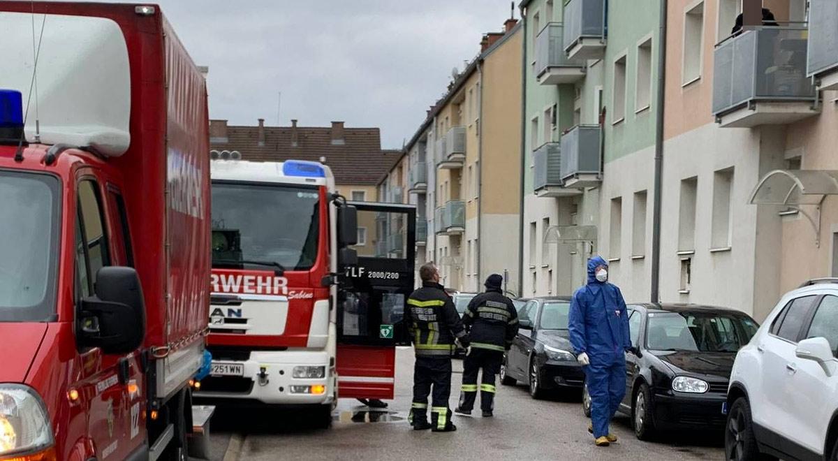 Feuerwehreinsatz: illegaler Ofen / Foto: Presseteam d. FF Wr. Neustadt