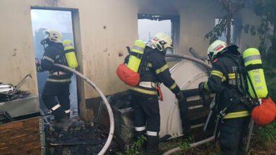 Feuerwehreinsatz Kottingbrunn / Foto: Presseteam d. FF Wr. Neustadt