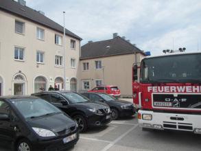 Feuerwehreinsatz Wielandgasse / Foto: Presseteam ffwrn.at