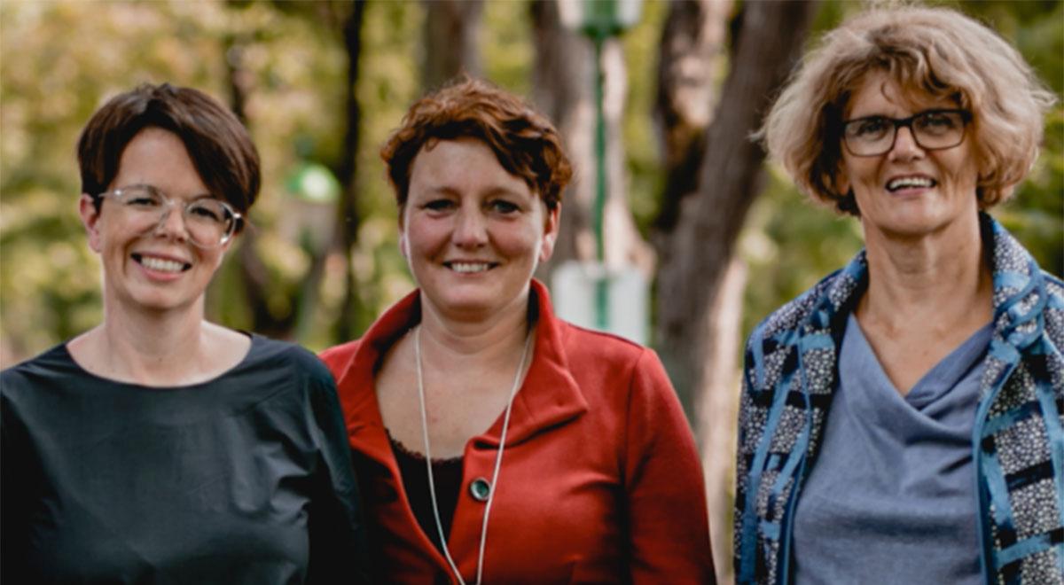 Grüne Frauenpower / Foto: Jennifer Vass