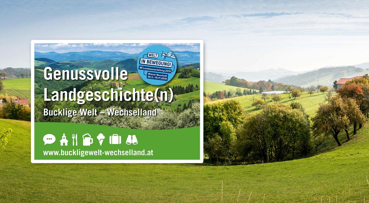 Genussvolle Landgeschichten / Foto: ©Wiener Alpen/Franz Zwickl