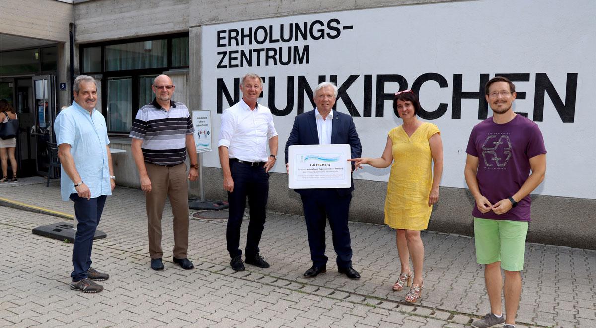 Gratis-Badespaß für 1.548 SchülerInnen / Foto: Stadtgemeinde Neunkirchen