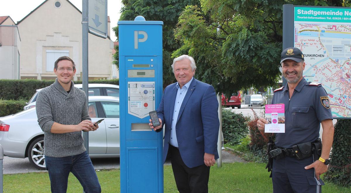 Handyparken in Neunkirchen / Foto: Stadtgemeinde Neunkirchen