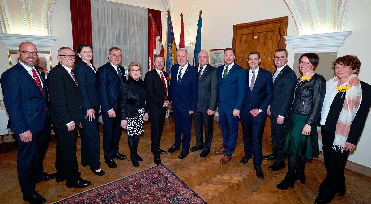 konstituierende Gemeinderatssitzung 2020 / Foto: Stadt Wiener Neustadt/Weller