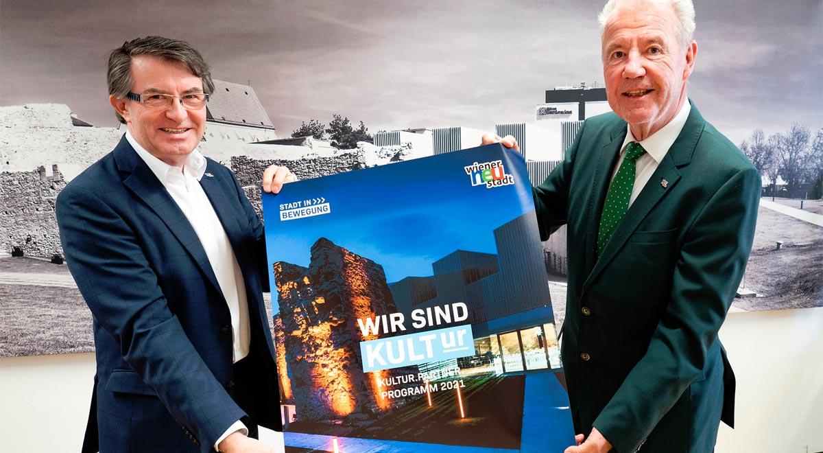 Kultur.Partner.Programm 2021 / Foto: Stadt Wiener Neustadt/Weller