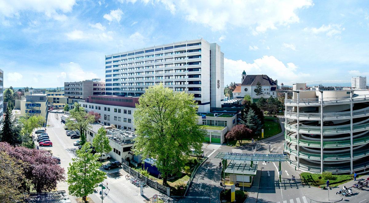 Landesklinikum Wiener Neustadt / Foto: Landesklinikum Wiener Neustadt