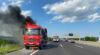 LKW Brand auf der Autobahn / Foto: Presseteam d. FF Wr. Neustadt