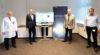 Solarstrom bei MedAustron / Foto: Michael Weller
