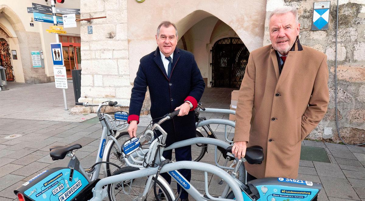 nextbike in Wiener Neustadt / Foto: Stadt Wiener Neustadt/Weller