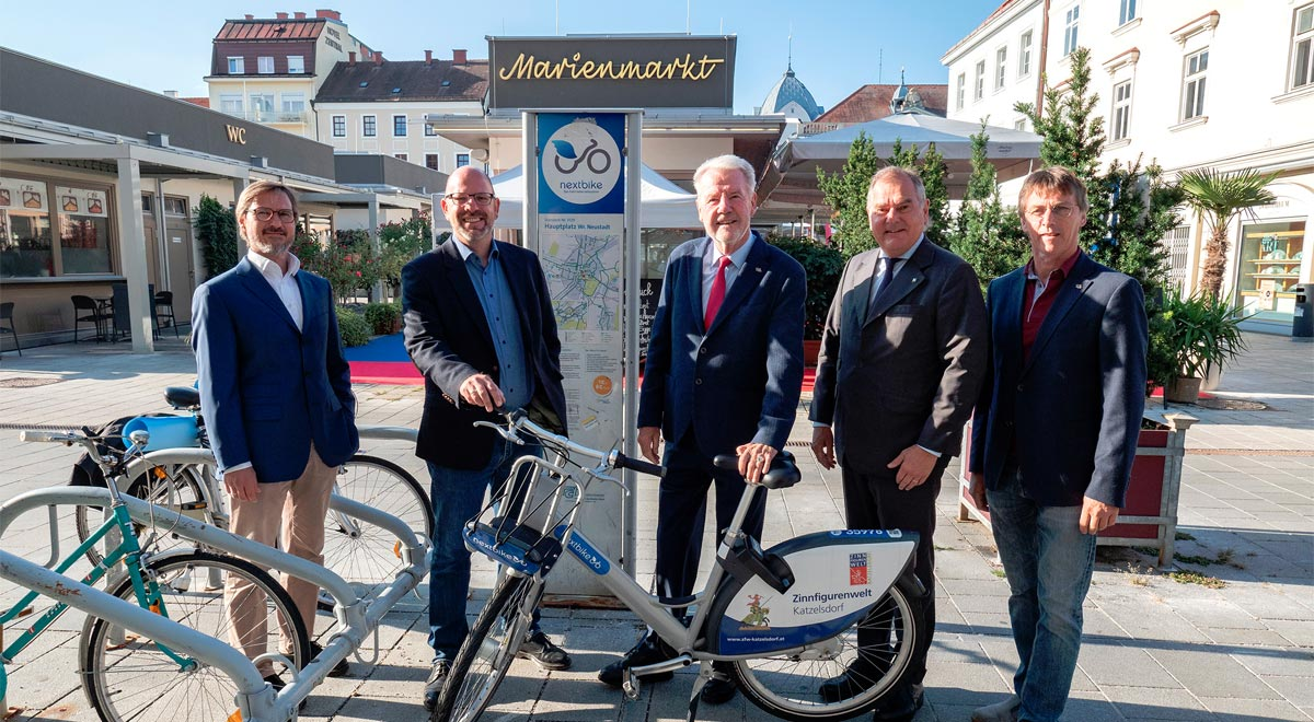 nextbike-wiener-neustadt-bilanz-2021 / Foto: Stadt Wiener Neustadt/Weller