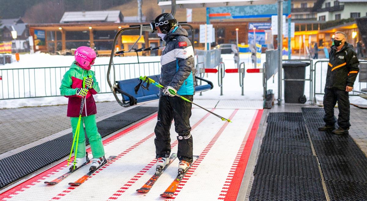 Skifahren in der Coronakrise / Foto: Wolfgang Wutzl