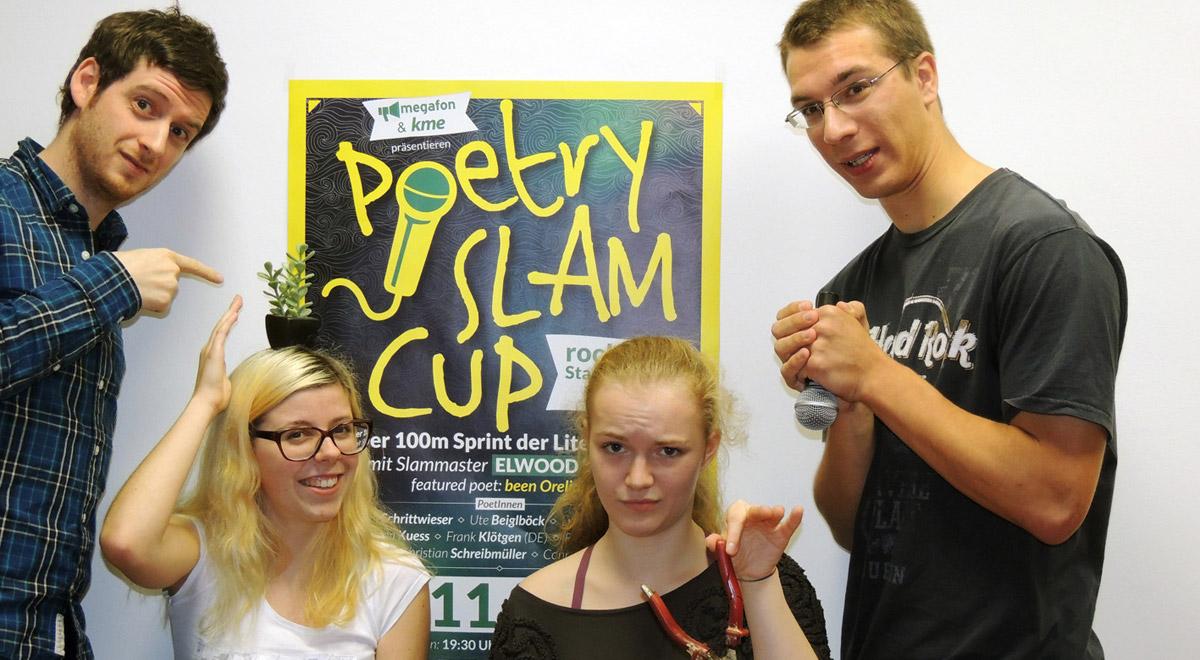 2. Poetry Slam Cup / Foto: megafon