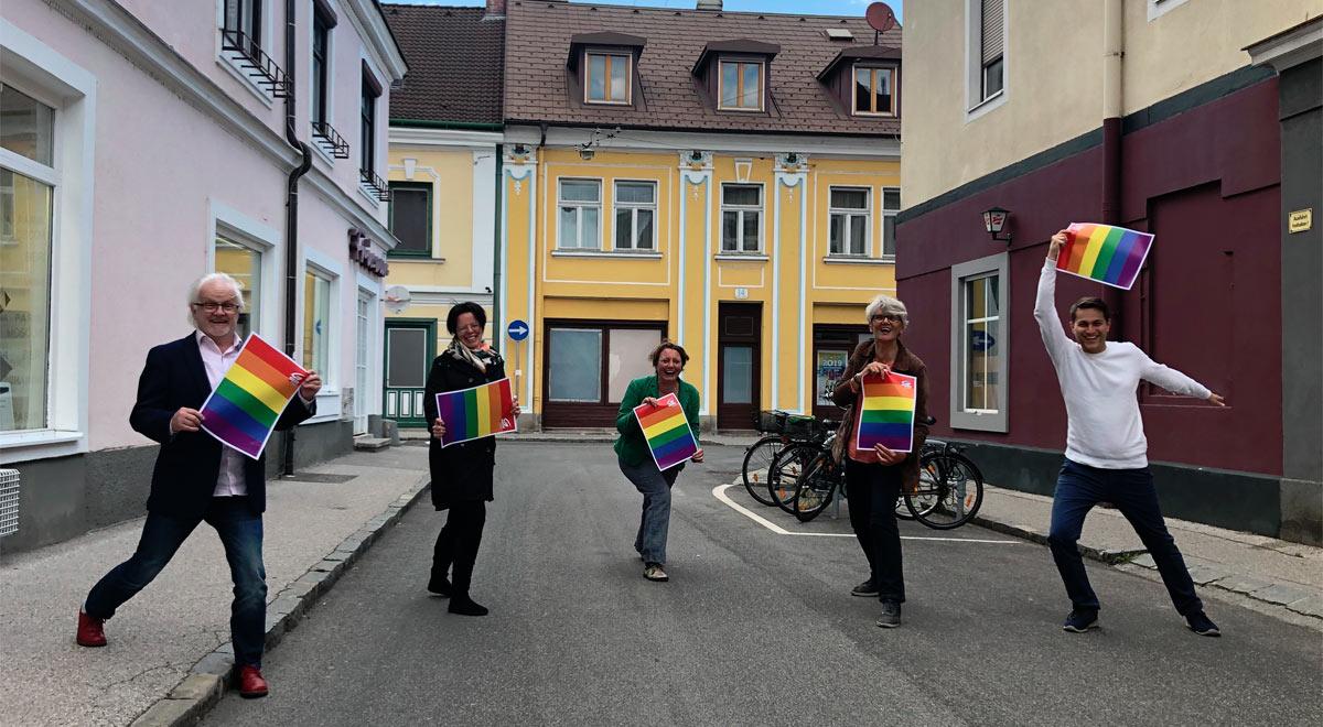 Pride Month / Foto: Die Grünen Wr. Neustadt