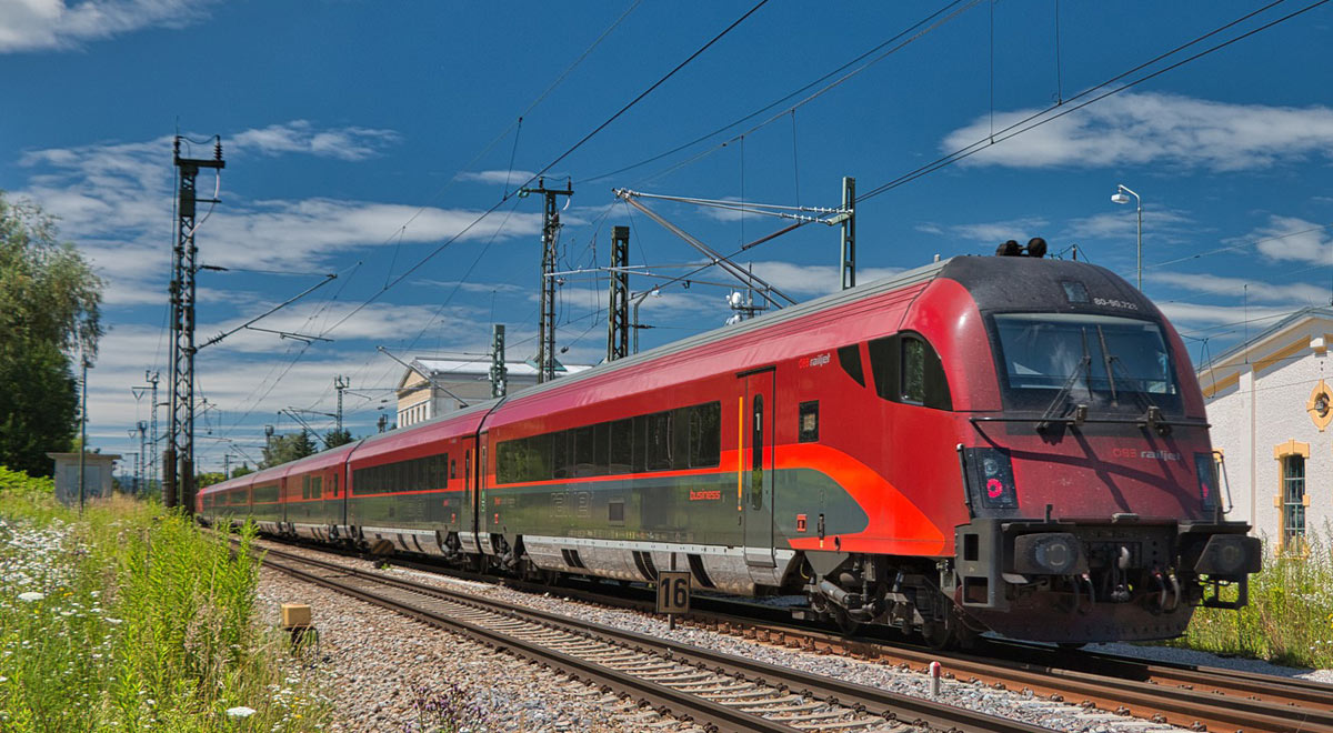 ÖBB Railjet / Foto: pixabay