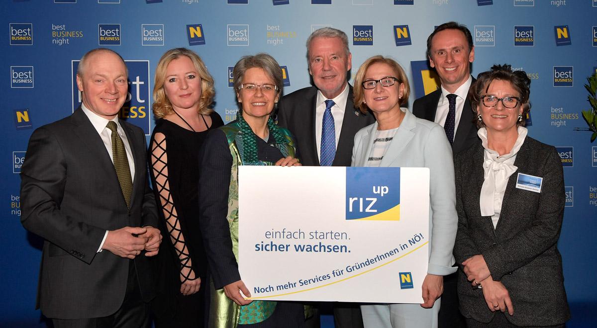 riz up Gründeragentur / Foto: © NLK Pfeiffer