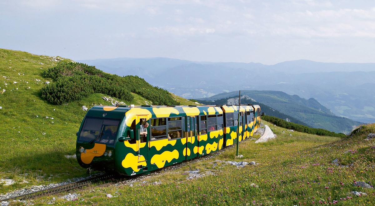 Schneebergbahn / Foto: ©Wiener Alpen/Franz Zwickl