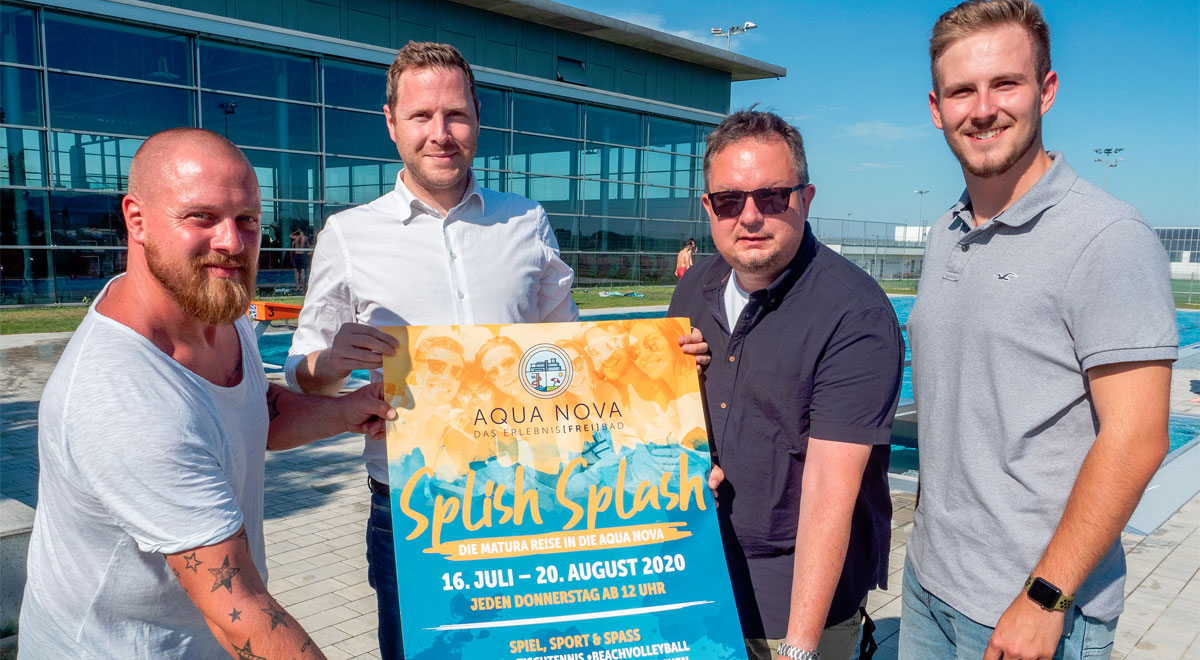 """Splish Splash"" 2020 / Foto: Stadt Wiener Neustadt"