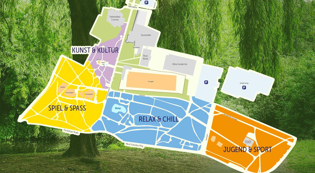 Neugestaltung Stadtpark / Foto: Stadt Wr. Neustadt / pixabay
