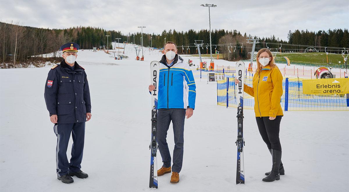 Start in die Wintersaison 2020/21 / Foto: NLK Pfeiffer