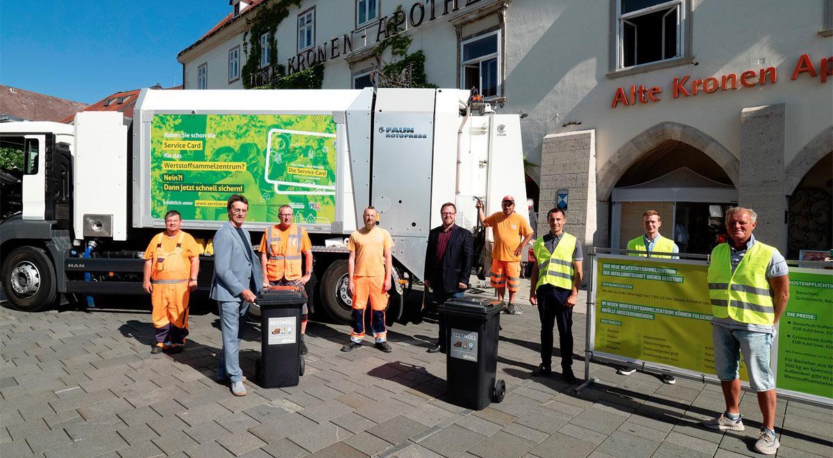 Tag der Müllabfuhr / Foto: Stadt Wiener Neustadt/Weller
