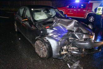 Geisterfahrerunfall auf der Südautobahn / Foto: Presseteam d. FF Wr. Neustadt