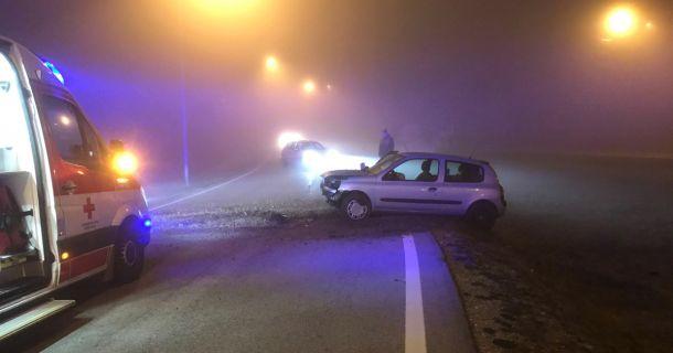 Verkehrsunfall bei dichtem Nebel – 2 Verletzte