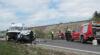 Verkehrsunfall Nordspange / Foto: Presseteam d. FF Wr. Neustadt