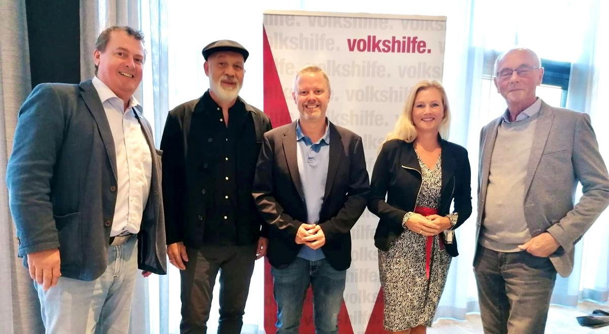 Volkshilfe-Klausur in Wiener Neustadt / Foto: Horst Pammer, Erich Fenninger, Rainer Spenger, Petra Vorderwinkler und Ewald Sacher