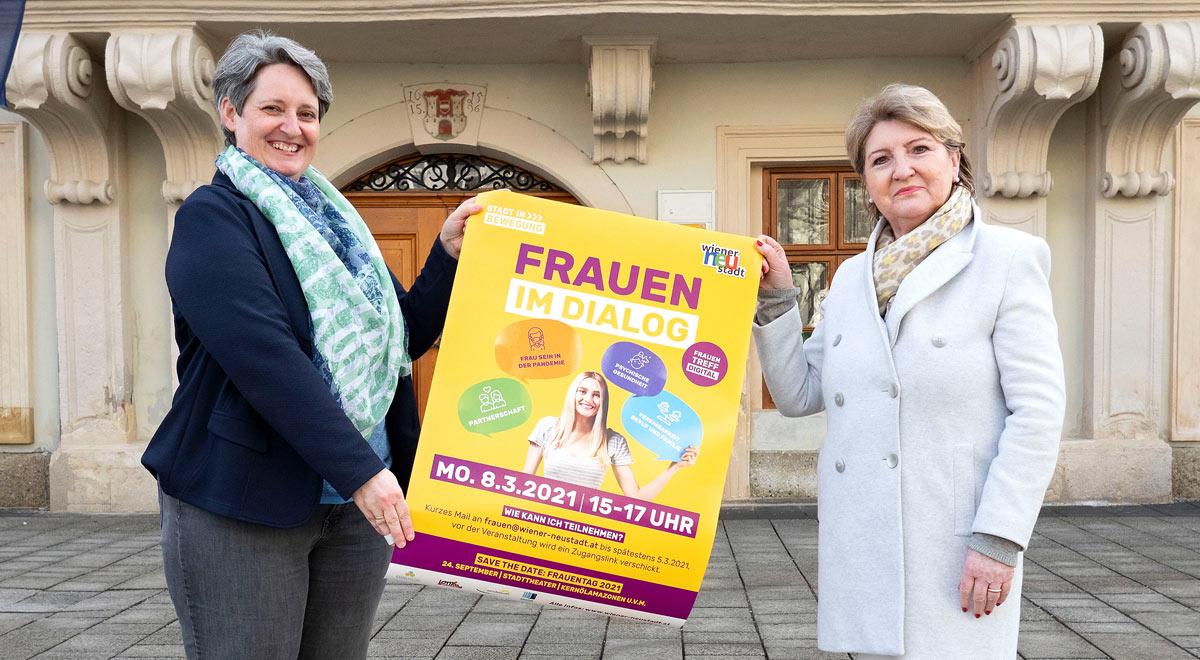Weltfrauentag am 8. März / Foto: Stadt Wiener Neustadt/Weller