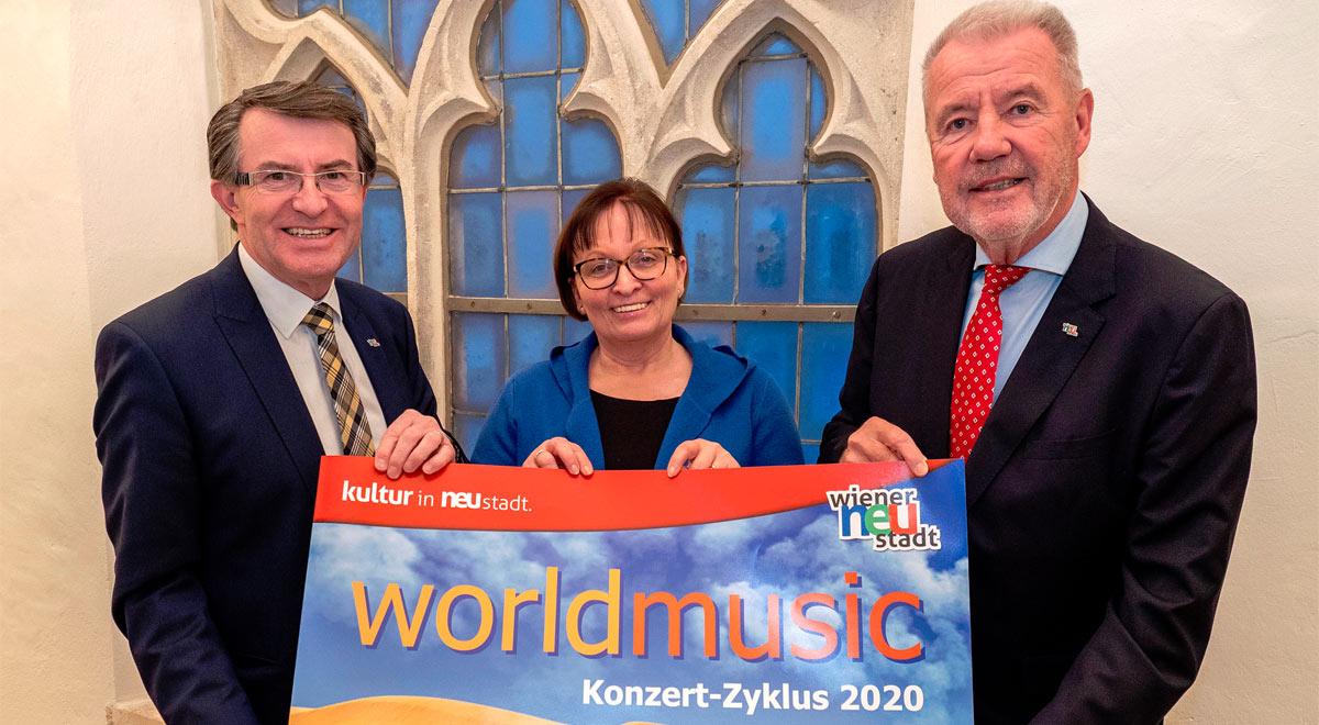 """""""world music""""-Zyklus 2019 / Foto: Stadt Wiener Neustadt/Weller"""